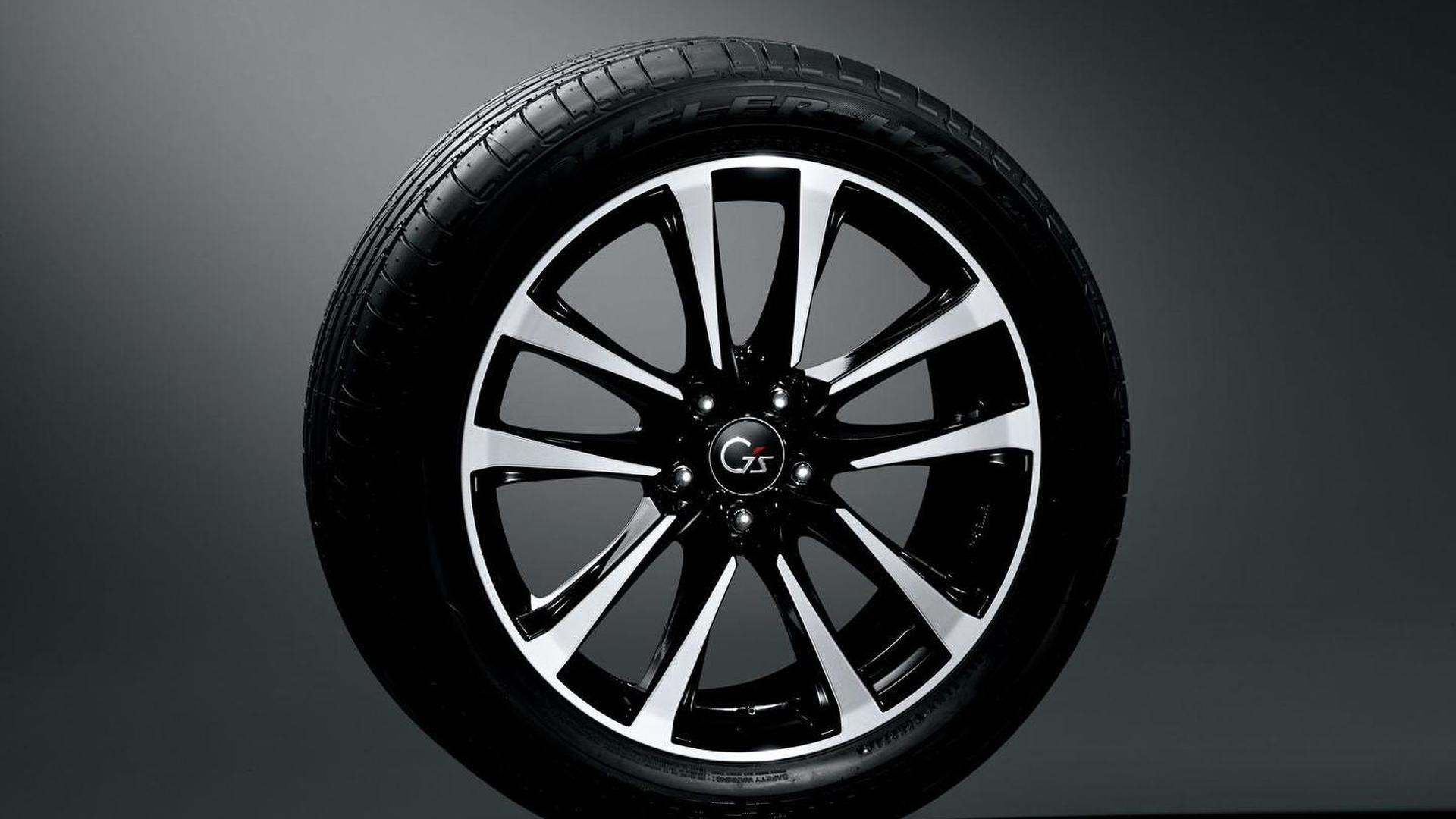 Новый дизайн дисков Toyota Harrier Elegance G