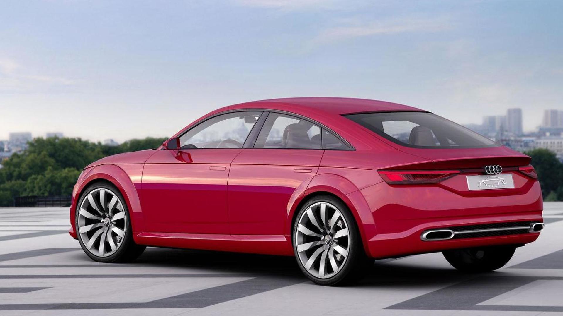 Новая Audi TT Sportback