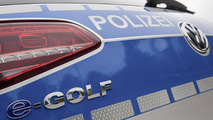 Volkswagen e-Golf police car unveiled