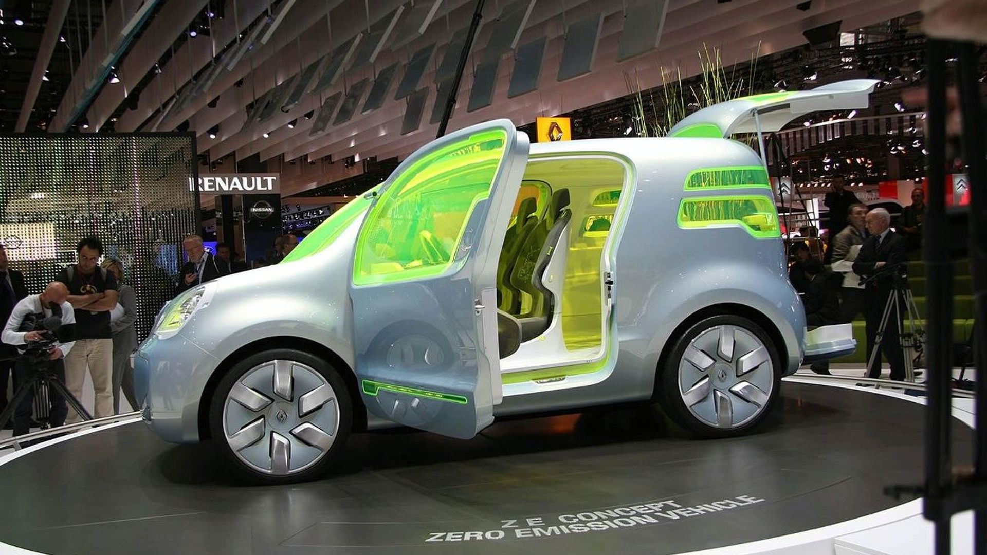 Renault Working On Three Electric Cars