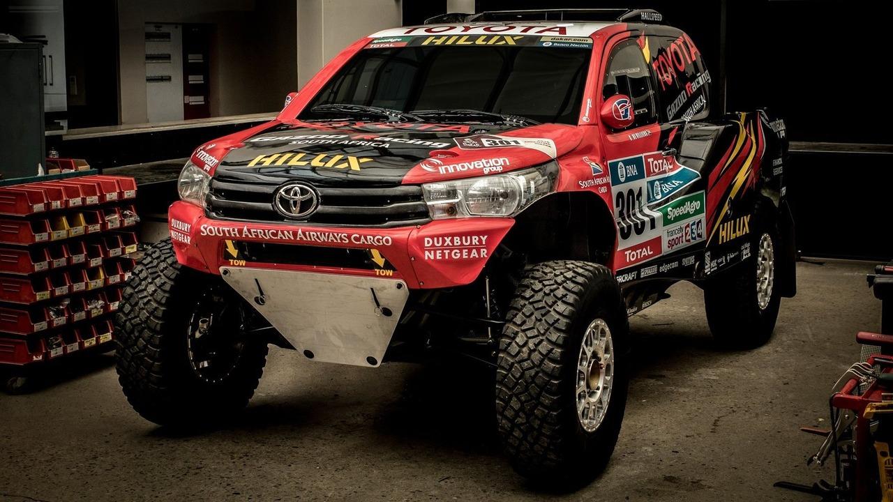 2017 Toyota Hilux Evo rally car
