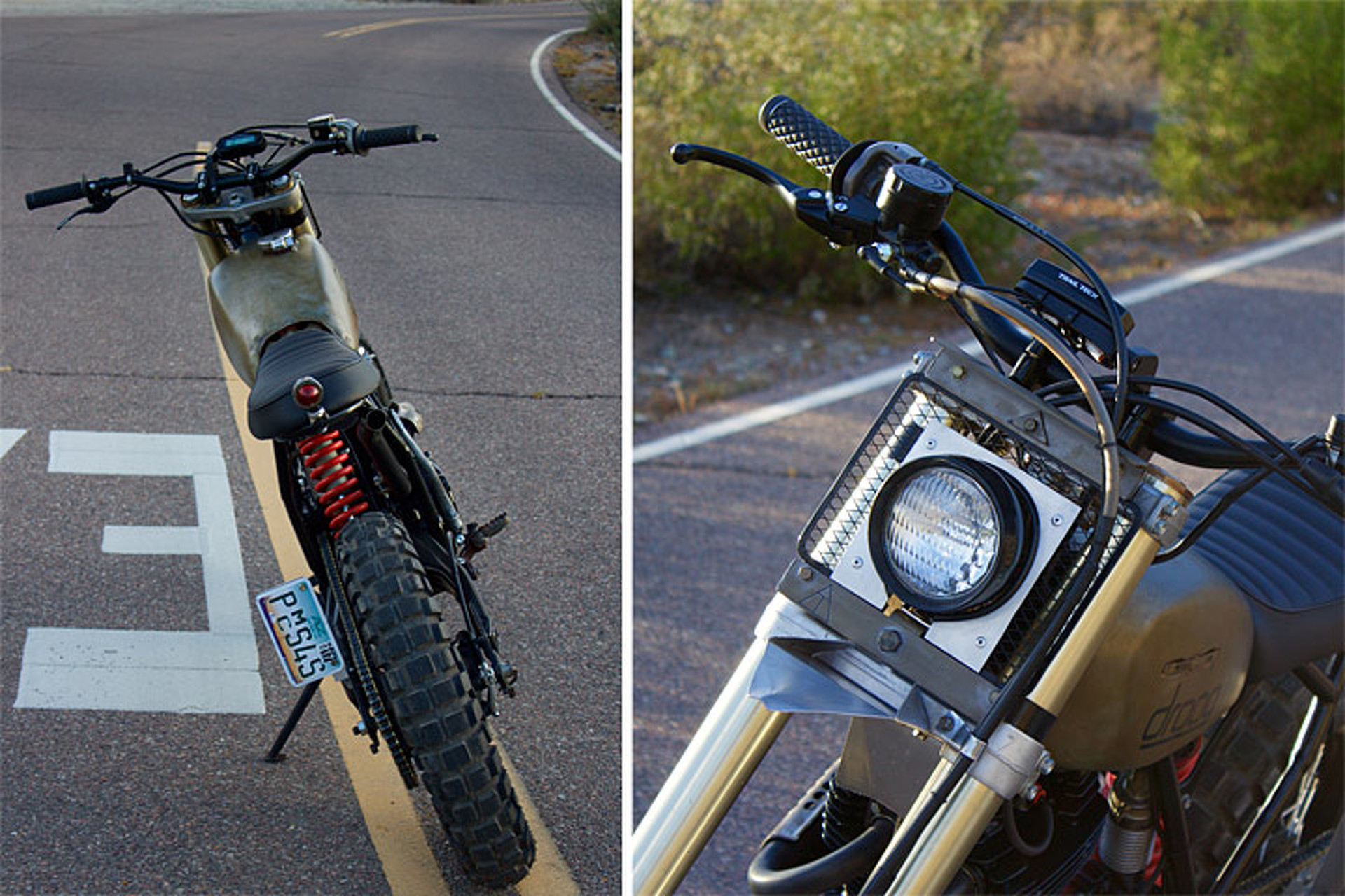 Honda XR500 Rescued to Create This Modern Scrambler