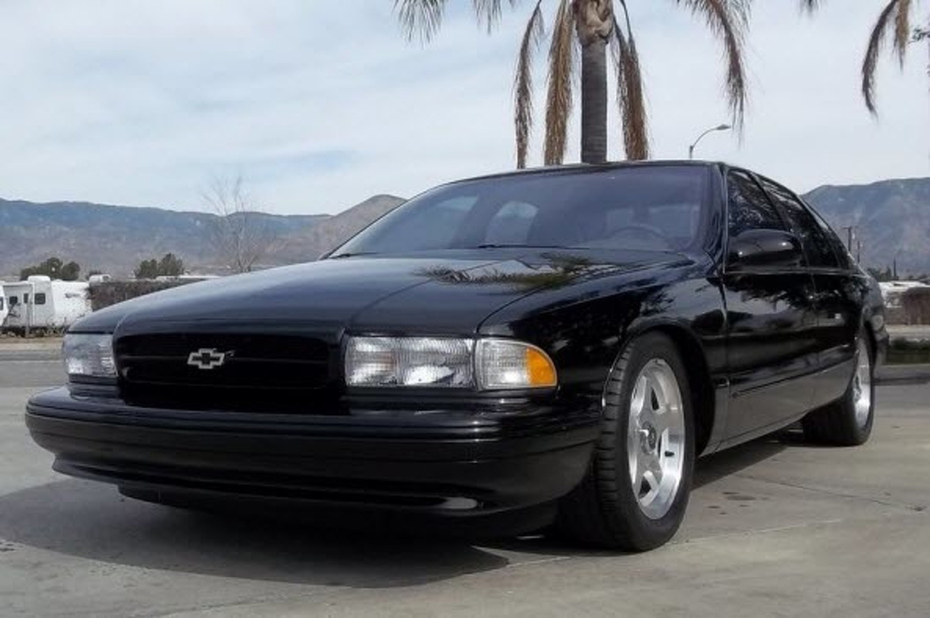 Auction Car of the Week: 1996 Impala SS - 7,400 Miles