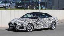 Audi S5 Cabrio spy photo
