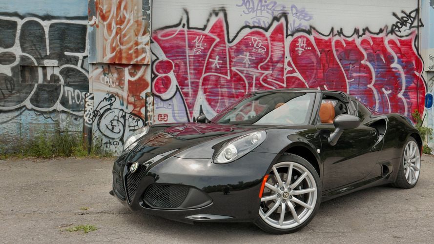 2016 Alfa Romeo 4C Spider: Review CA