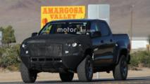 Chevrolet Colorado ZR2 spy photos