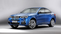 BMW X4 M40i leaks out, has 360 PS