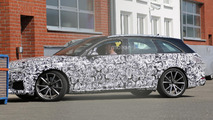 Audi RS4 Avant spy photos