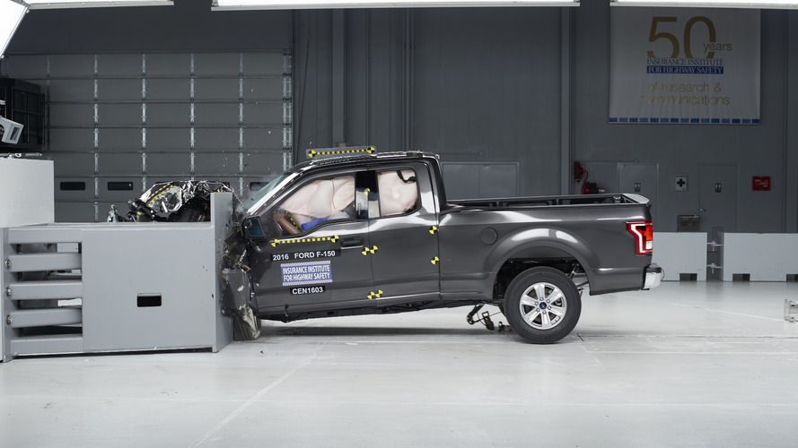 Ford F-150 only truck to ace small overlap crash test