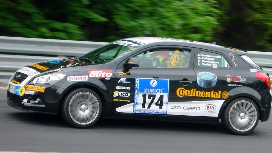 Kia Turns Heads at Nürburgring 24-hours