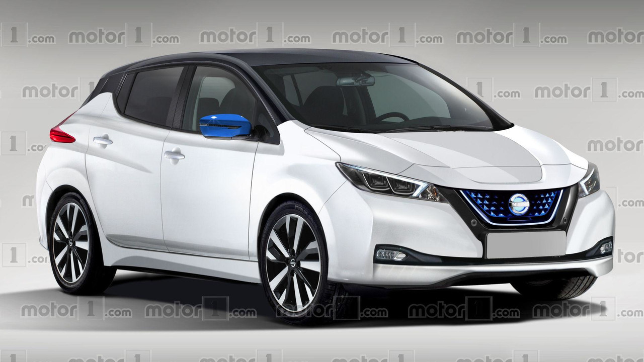 Compare Nossa Proje 231 227 O Do Nissan Leaf 2018 Com O Modelo Final