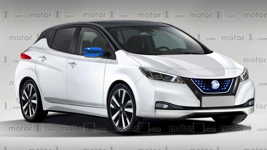 Nouveau teaser pour la Nissan Leaf 2 (2018)