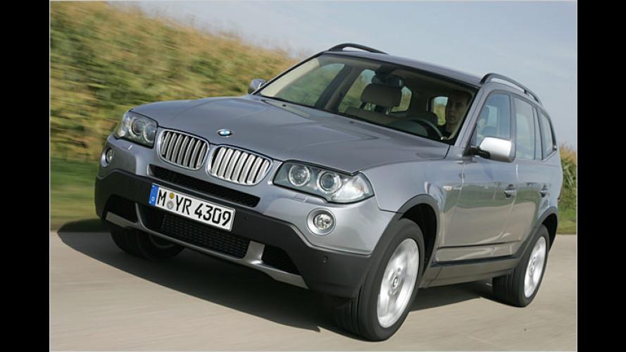 Supersportler-SUV: Diesel-Bombast BMW X3 3.0sd im Test