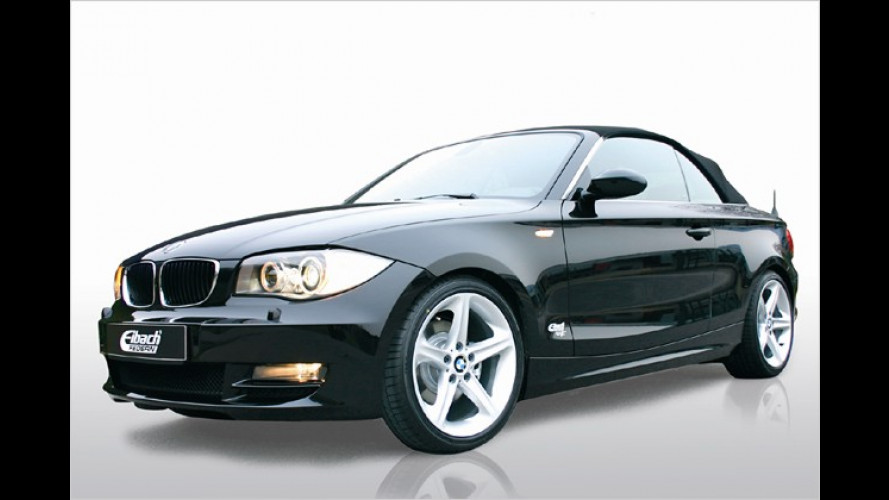 BMW 1er Cabrio: Straffer Unterbau für Soft-Top-Bayern