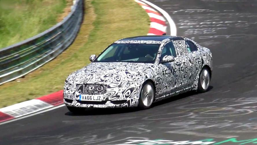2018 Jaguar XEL screenshots from spy video