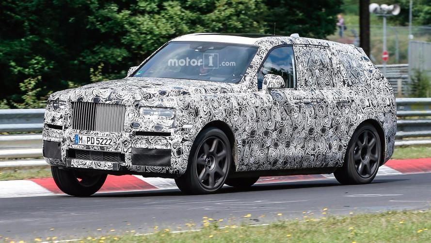 Rolls-Royce Cullinan Nürburgring'de yakalandı