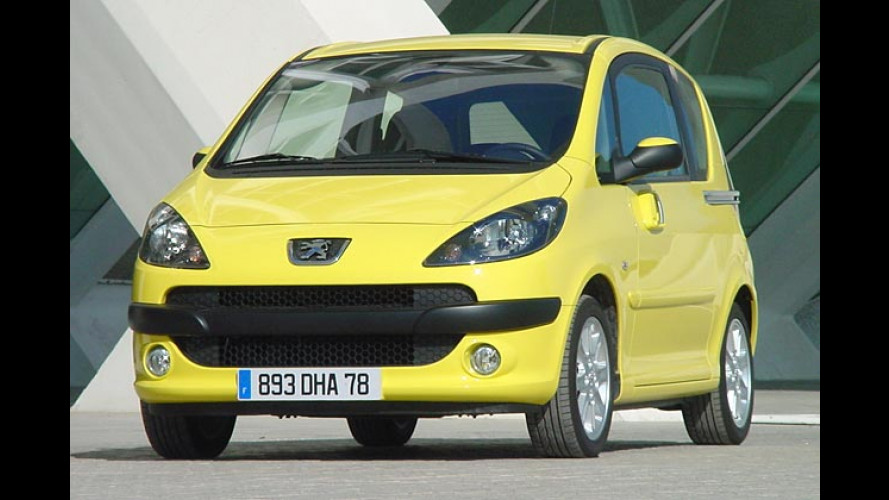 Peugeot 1007: Handschaltung für den Top-Benziner