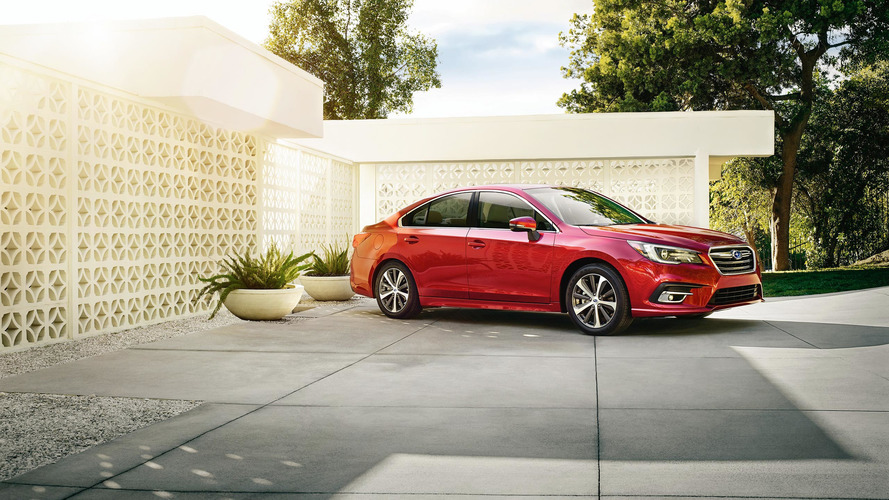 2018 Subaru Legacy refreshed to look better outside and inside