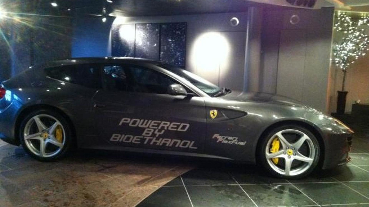 Ferrari FF with bio-ethanol E85 conversion produces 875 bhp, 1280, 17.01.2012