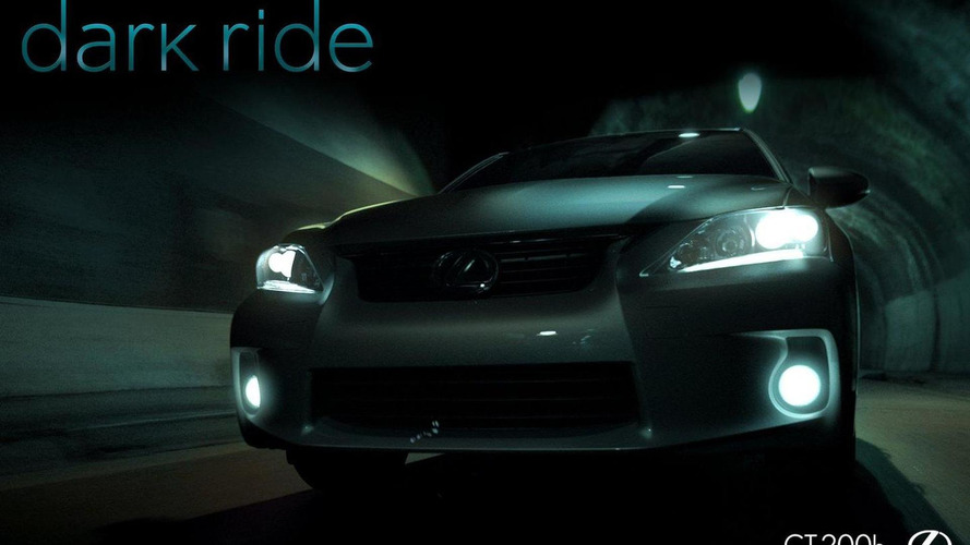 Lexus CT 200h Dark Ride interactive promo video released