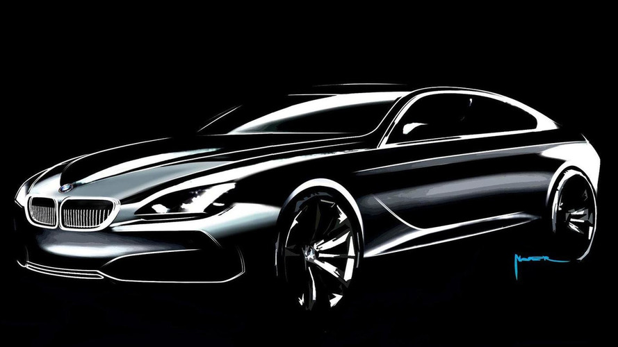 BMW Gran Coupe Concept design studio photos released
