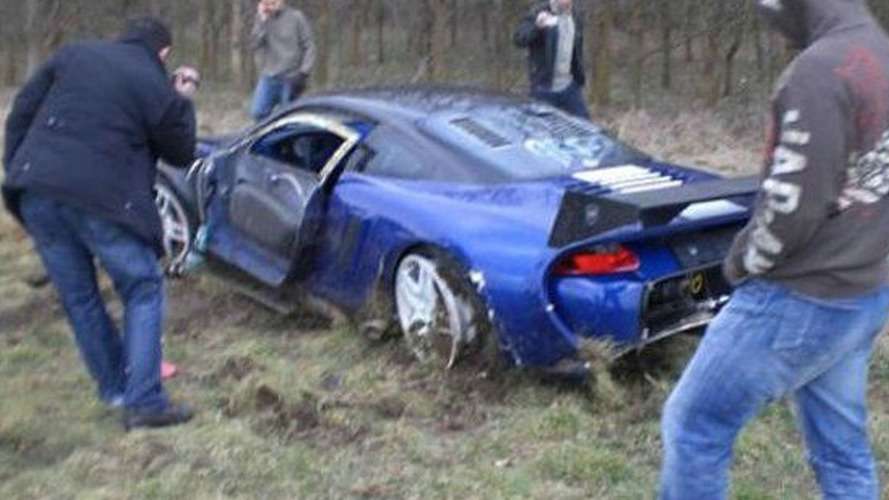9ff GT9-R Crashes at High Speed Event in UK