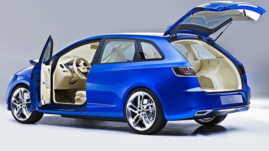 SEAT IBZ Sport Tourer Concept Revealed in Frankfurt