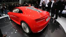 Audi R8 e-Tron production version begins testing