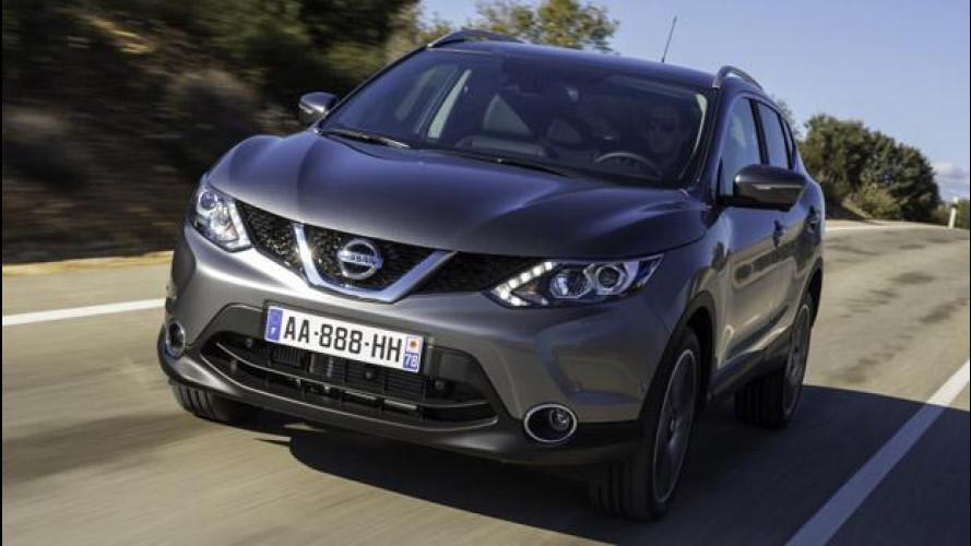 Nuovo Nissan Qashqai: porte aperte il 15 e 16 febbraio