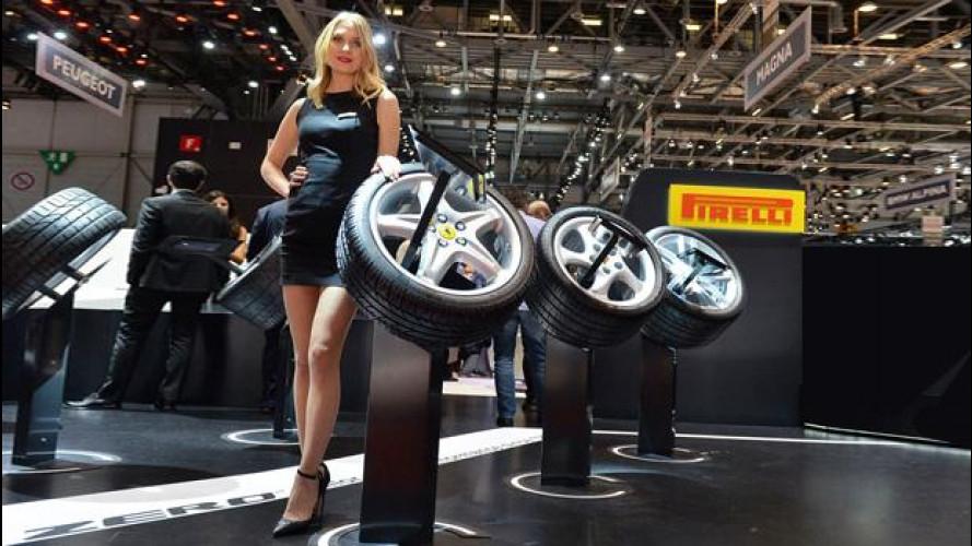 Salone di Ginevra 2016: Pirelli, ai piedi delle
