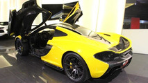 McLaren P1 at Al Ain Class Motors