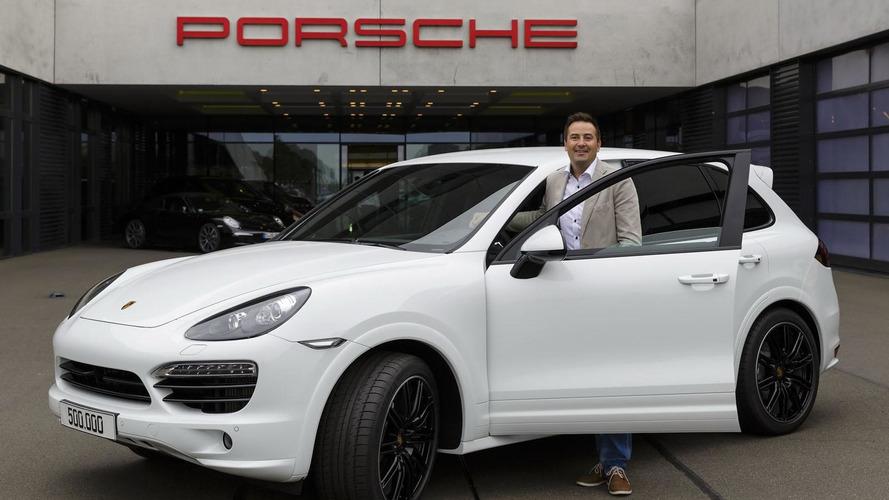 Porsche builds 500,000th Cayenne, Toyota makes three millionth Prius