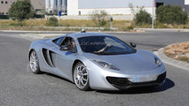 2015 McLaren P13 mule spied showing new details