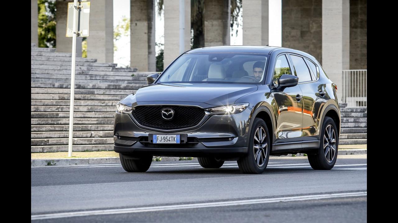 Mazda CX-5 benzina e Diesel