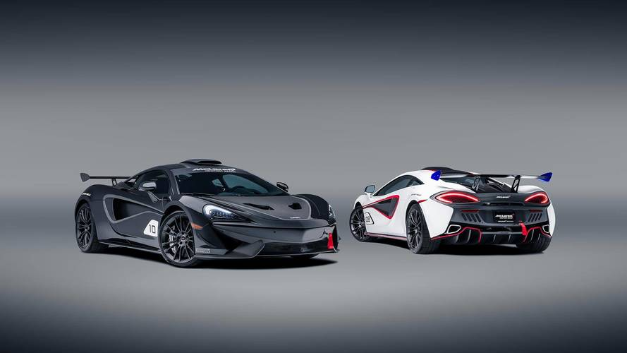 McLaren dévoile la MSO X, inspirée de la 570S GT4