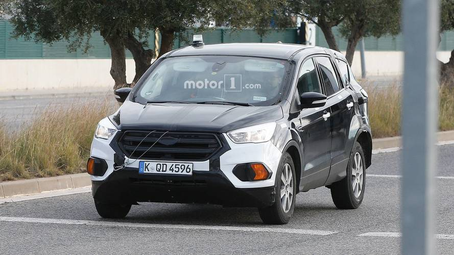 2020 Ford Kuga / Escape spy photos