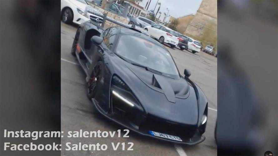 McLaren Senna Caught Enjoying Italian Town