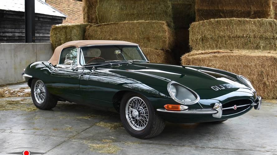 Un exclusivo Jaguar E-Type 4.2, a la venta en el Reino Unido