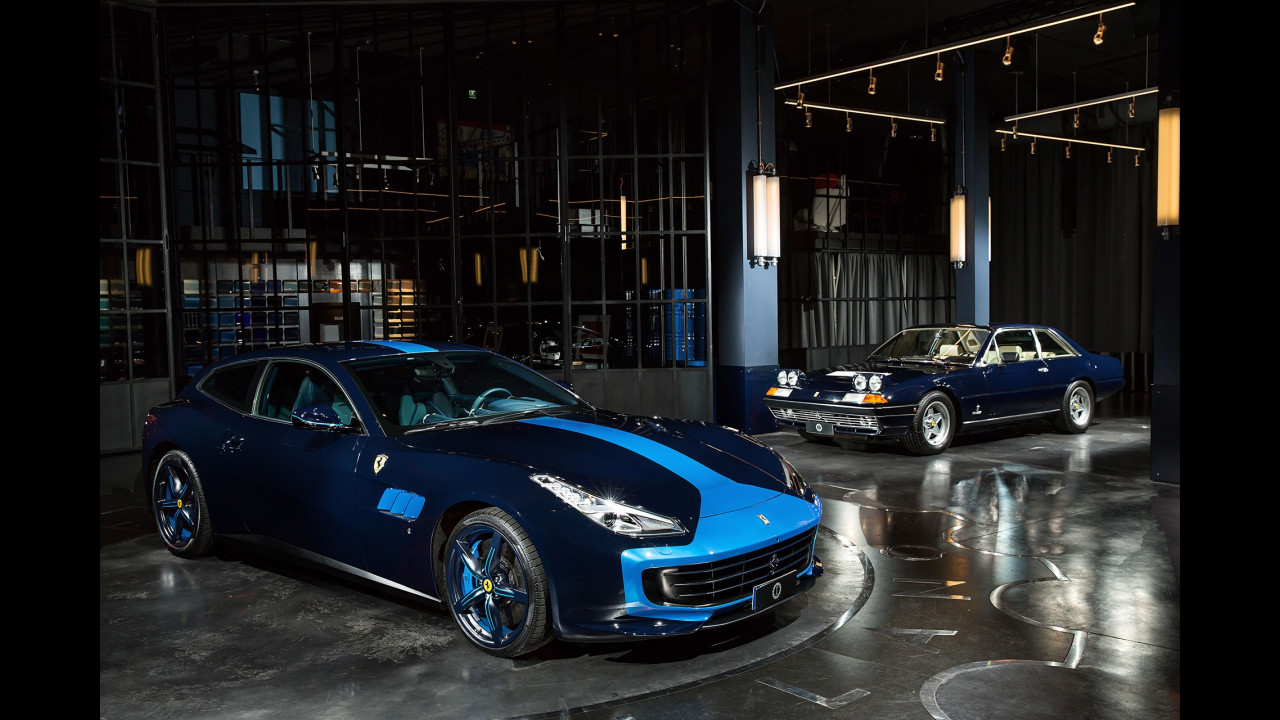 Ferrari GTC4 Azzurra by Garage Italia