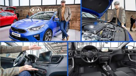 Kia Ceed 2018: Sitzprobe