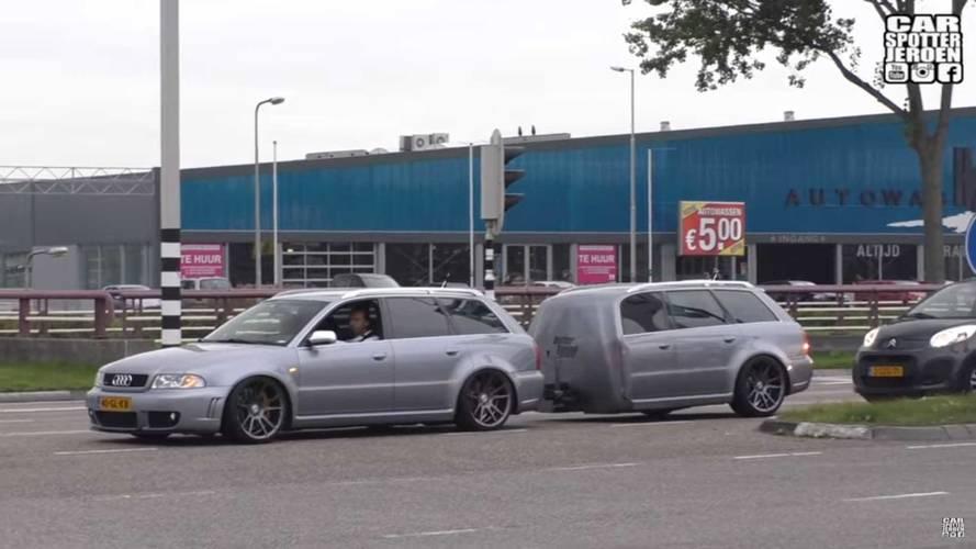 Audi RS4 Avant Trailer