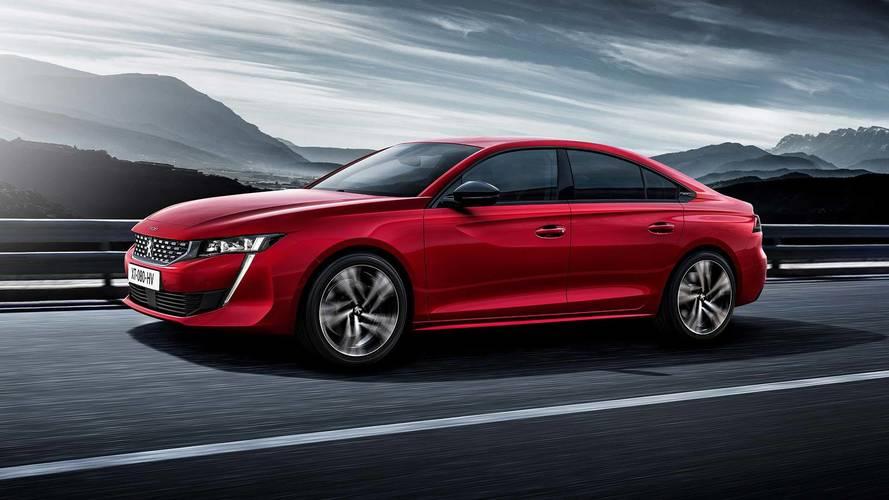 Peugeot's New 508 Sedan Looks Tres Chic