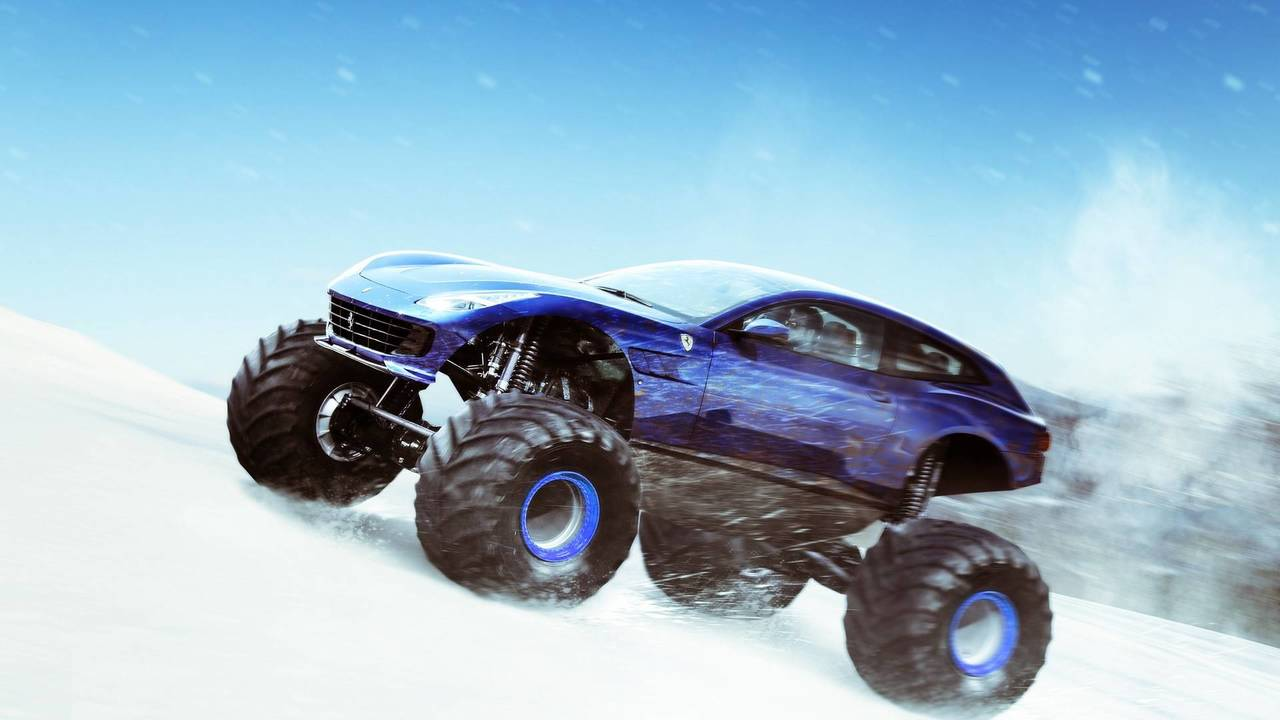 Ferrari GTC4 Monster Truck