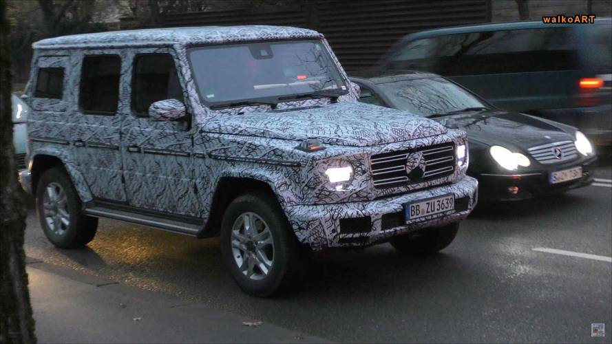 New Mercedes G-Class spied looking quite like a G-Class