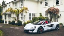 McLaren 570S Spider Muriwai White