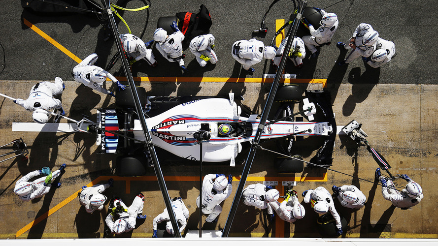 How F1 2017 Wider Tires Are Shaking Up Pitstops