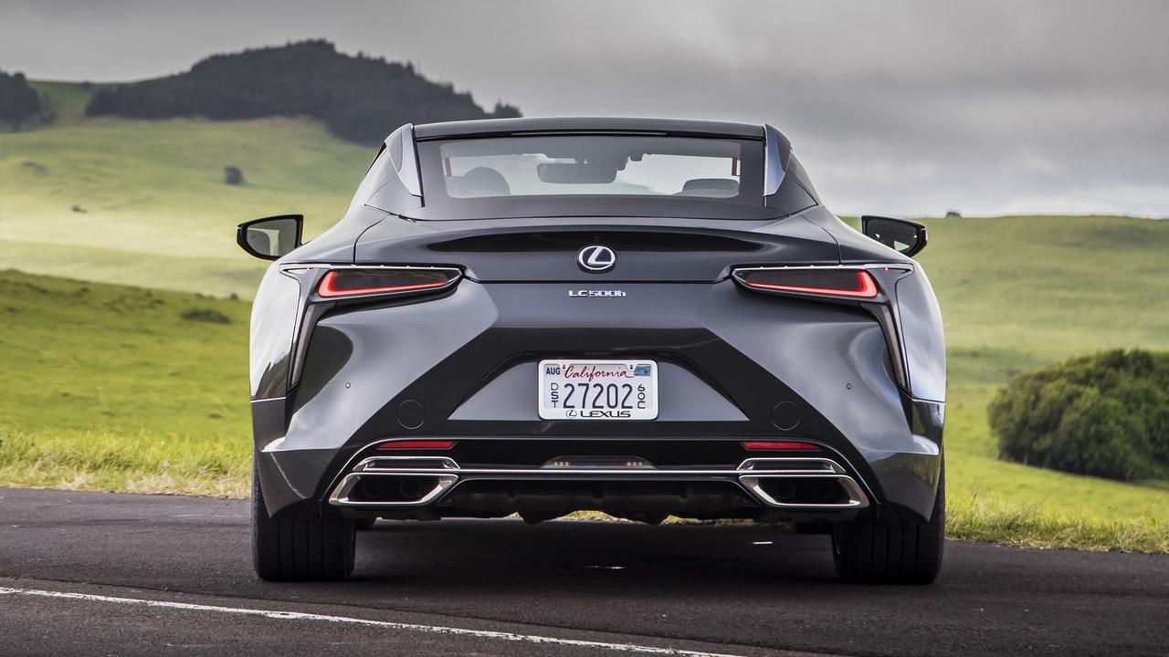 2018 Lexus Lc 500h First Drive The Hotshot Hybrid
