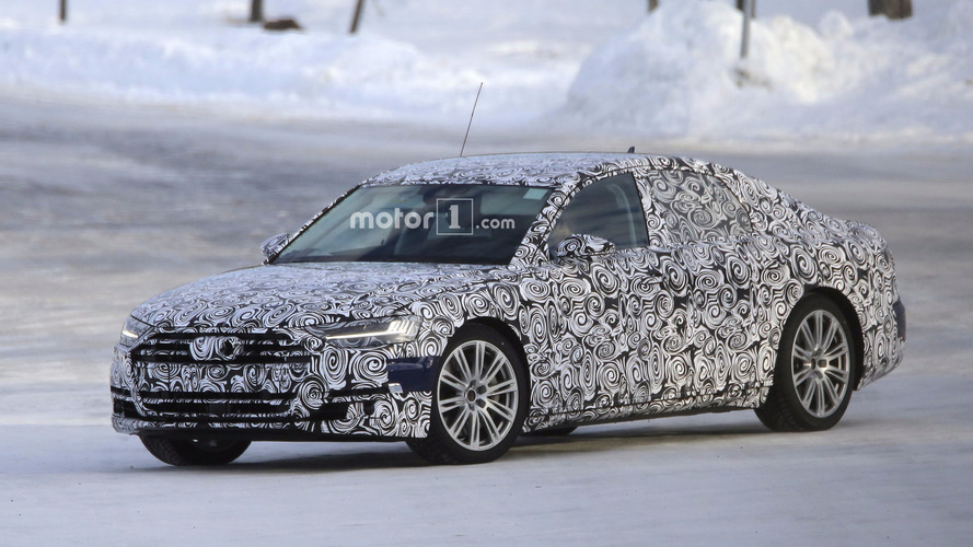 2019 Audi S8 heats up a cold Arctic day in new spy shots