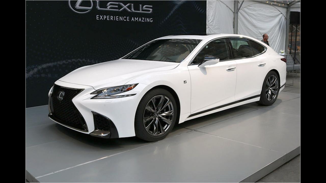 Lexus LS-F Sport
