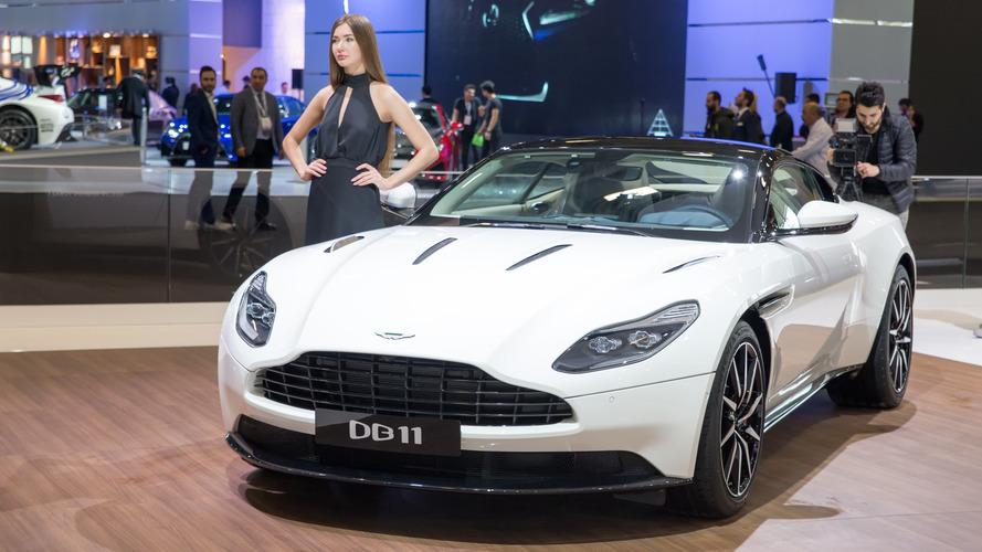 Aston Martin DB11, Autoshow'a zarif çizgiler ve 608 bg'le geldi